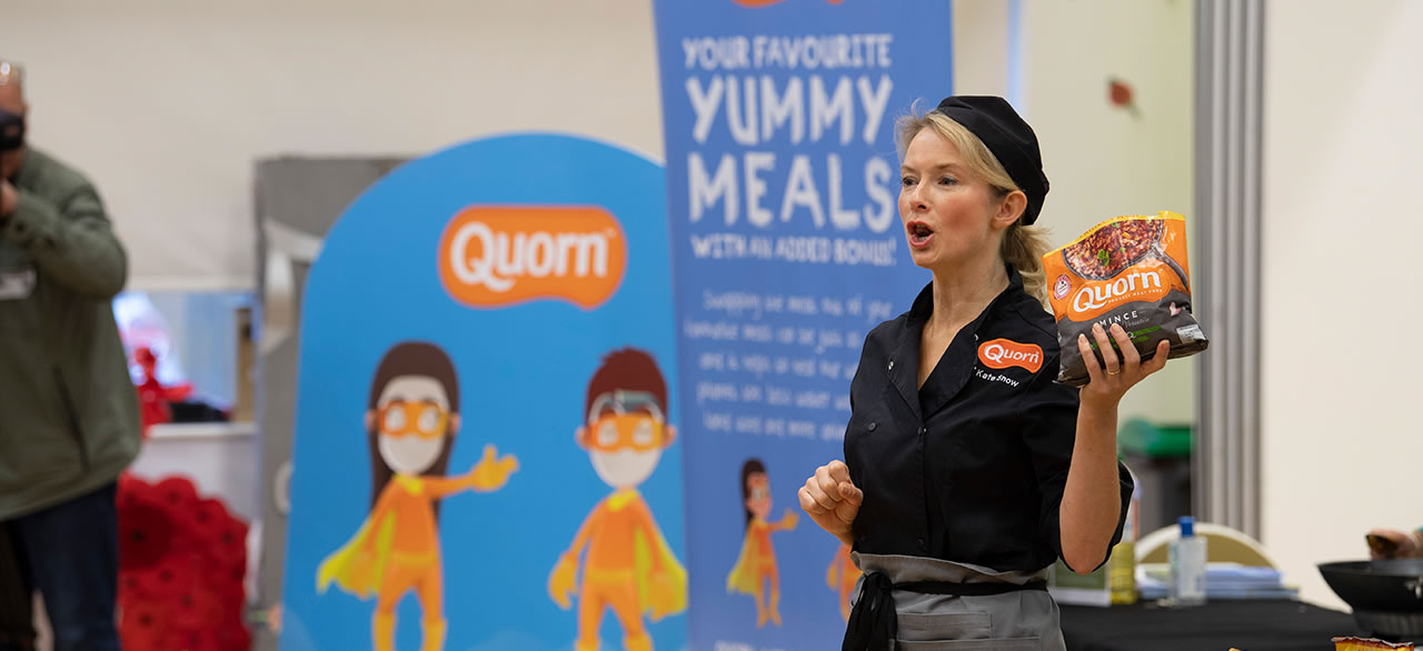 Quorn Foodservice promotion